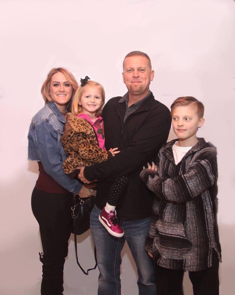 Aaron Phillips family