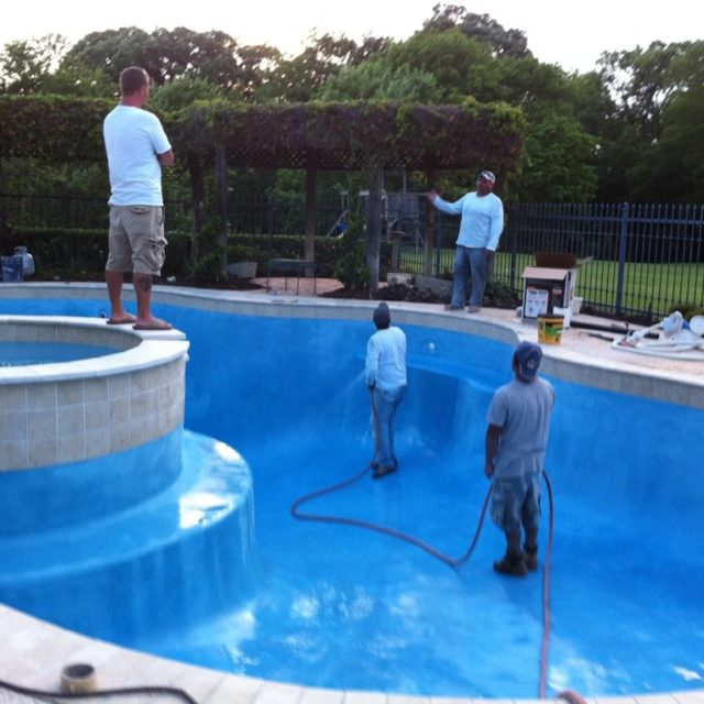 unground pool installation in Arlington and DFW